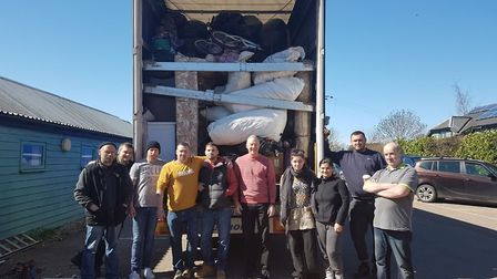 A Cambridgeshire based homelessness charity has donated £10,000 worth of household items, clothing a
