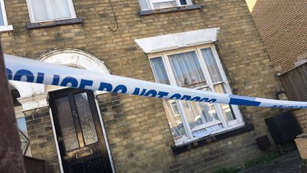 Three arrested on suspicion of murder in March after 'sudden death' in Creek Road. PHOTO: Harry Rutt