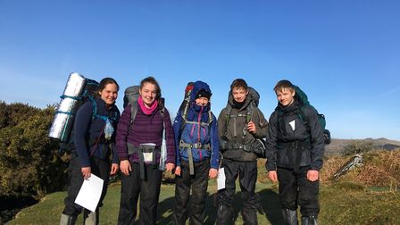King's Ely Senior students visited Dartmoor and Derbyshire to practise their hill walking and naviga