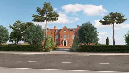 Illustrative photographs of what the new development at 30 Cambridge Road, Ely, might look like. The