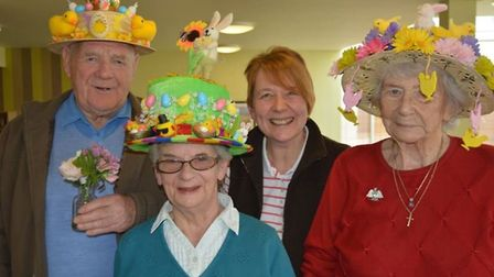 Easter bonnet event at Millbrook House in Soham PHOTOS: Mike Rouse