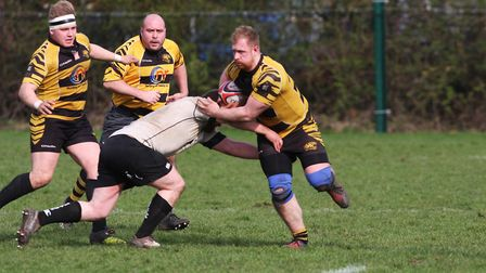 Ely Tigers give their best performance of the season against Holt. Scott Macfarlane opened the scori