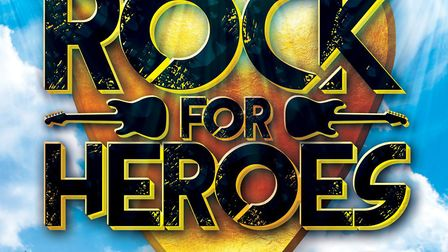 Rock for Heroes charity concert at Cresset Theatre in Peterborough