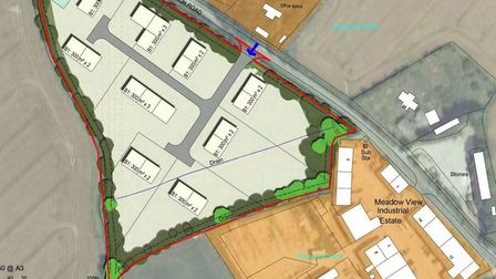 The site will see new business units and landscaping. Picture: East Cambs District Council