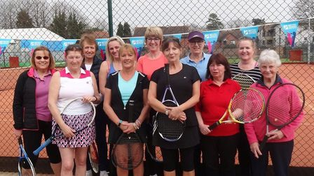 A Benenden Girls, Set, Match Festival was played on Saturday at Wisbech Tennis Club
