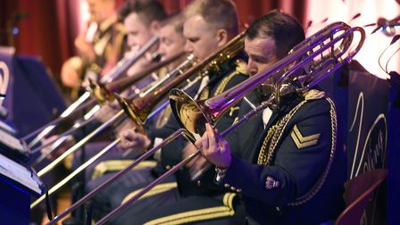 Emotional evening in Wisbech as the RAF Swing Wing band performed at the Thomas Clarkson Academy.