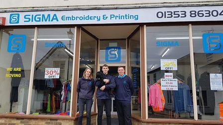 """Sigma was """"was the shop that put the village on the global map by producing local embroidery and pri"""