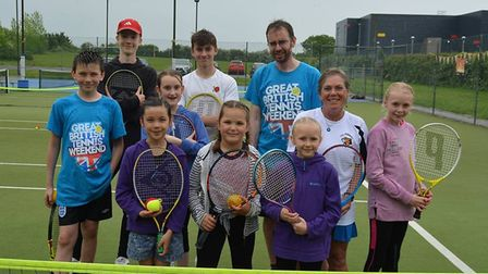 It was a successful open day for Ely Tennis Club. Picture: Mike Rouse