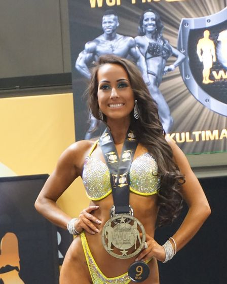 Soraya Barrera Coello defended her title this weekend at Bodypower