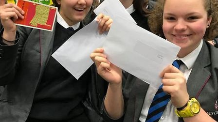 Good luck envelopes were handed out during the last Year 11 assembly with secret notes from students