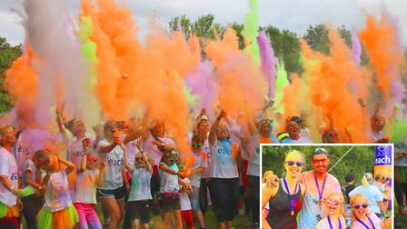 One of Elys most popular events, the Colour Dash, is returning to the city for its third year. PHOTO