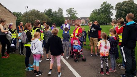 The Three Counties Running Club members took on the Waterbeach Running Festival. PHOTO: Submitted