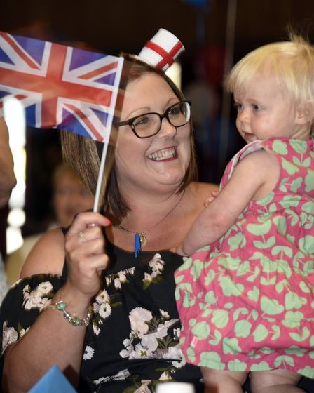 Wisbech Lions, Roundtable and Tesco hold a royal wedding celebration. PHOTO: Ian Carter