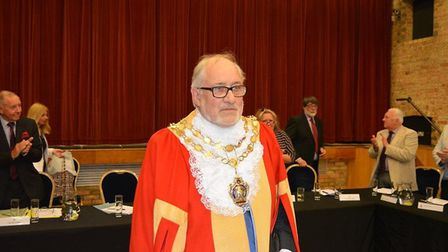 Cllr Mike Rouse is new Mayor of Ely alongside his younger daughter, Cassie, as Mayoress