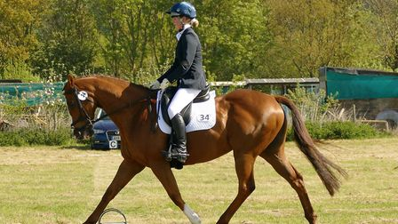 King's Ely sixth form student Phoebe Plumb competed in the British Riding Club Area 7 Summer Dressag