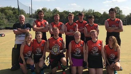The Ely City Hockey Club has raised 1,767 for their replacement pitch fund after hosting their annua