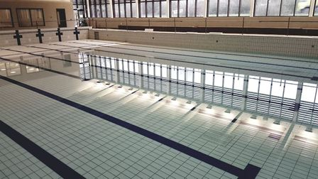 An early look at the facilities in Ely's new leisure centre, The Hive.