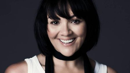 Martine McCutcheon will perform songs from her new album 'Lost and Found' at The Princess Theatre in