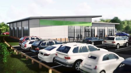 The new Co-op store in Sutton. Photo: East Cambs District Council