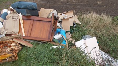 A man from March, 36, has been prosecuted and fined over £2,500 for fly-tipping in the town. PHOTO: