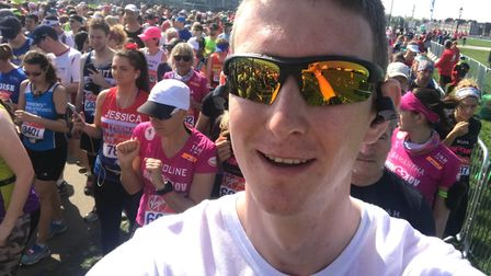 Courtney Pettifor is one of the London Marathon runners whio completed the course successfully.
