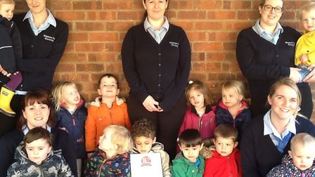 The Maltings Day Nursery has been rated among the top 20 nurseries in the East of England
