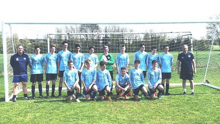 Witchford Colts under 16s team have played their last game together after eight years.