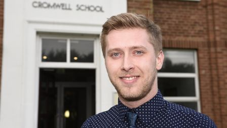 Louis Sugden of Cromwell Community College, Chatteris, who will enocurage students to take an intere