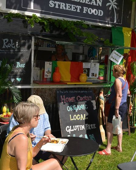 Crowds gather for Ely's annual Food and Drink festival. PHOTO: Mike Rouse