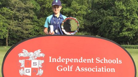 """Three Kings's Ely Junior pupils were """"on top form"""" at golfing competition at Wellington College – Pa"""