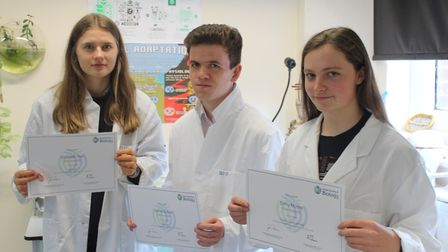 Students show off their biology skills at national challenge.
