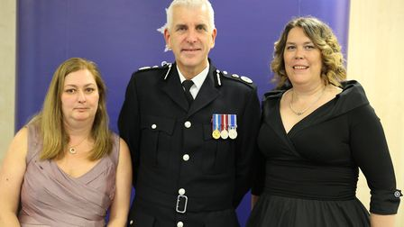 Nicky Alexander, 47, and Geraldine Wells, 50, from Peterborough, were awarded the Royal Humane Socie