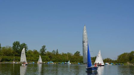 'Give it a try' day at Ely Sailing Club on Bank Holiday Monday. PHOTO: Mike Rouse