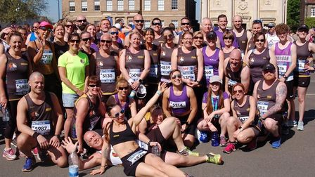 A Bank Holiday heat wave didn't put off a great turnout from Three Counties Running Club at the Jane
