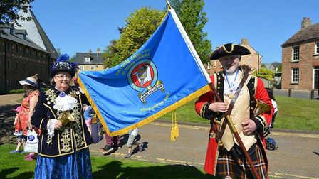 2018 town crier championships, Ely 2018. Town criers competed for the title at Ely Eel and there was
