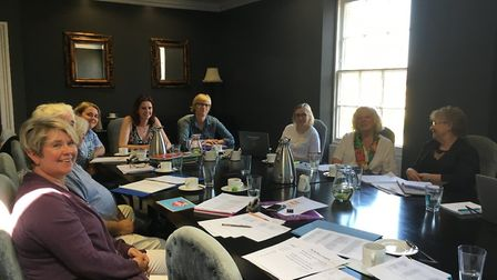 An interim meeting was held at The Poets House on Tuesday