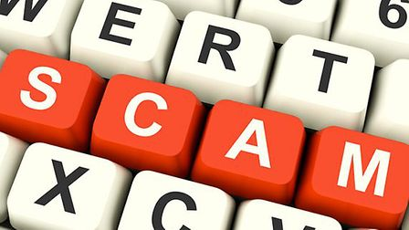 People are being warned about scammers in the area