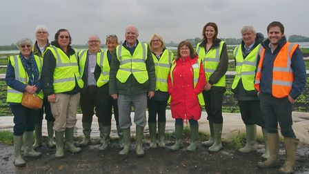 Councillors and officers from East Cambridgeshire District Council visited fresh salad and vegetable