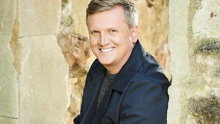 Aled Jones will perform at The Apex in Bury St Edmunds on Saturday May 19