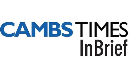 In Brief is the new and improved weekly newsletter brought to you by the Cambs Times.