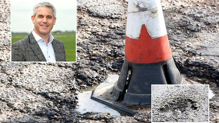 Repairs to 1,339 pot holes across Cambridgeshire last week didnt include the pothole in Fenland that