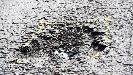 Repairs to 1,339 pot holes across Cambridgeshire last week didn't include the pothole in Fenland tha