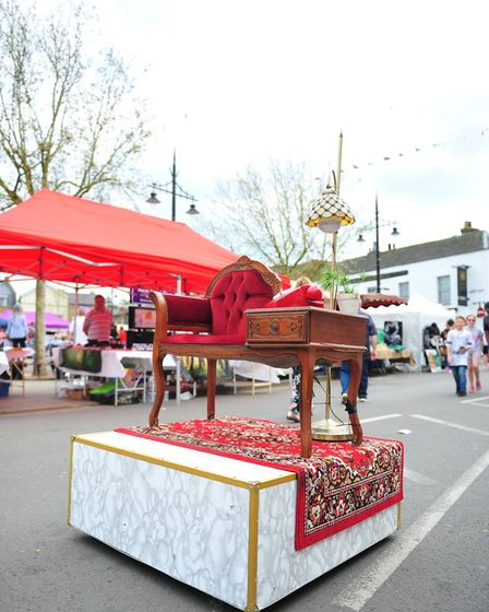 St George's Day Fayre 2018. PHOTO: Harry Rutter
