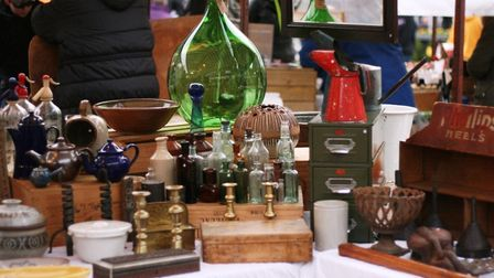 Ely vintage and vegan fair over Bank Holiday weekend.