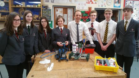 Three local schools, including Ely College, have been provided with robotics kits to participate in