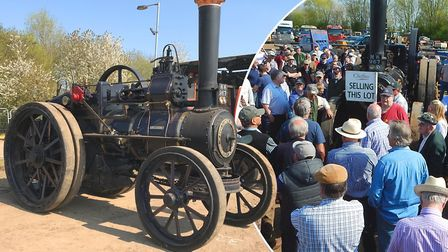 The Cheffins Cambridge vintage vehicle auction fetched over 1,400,000 in Sutton on Saturday April 21