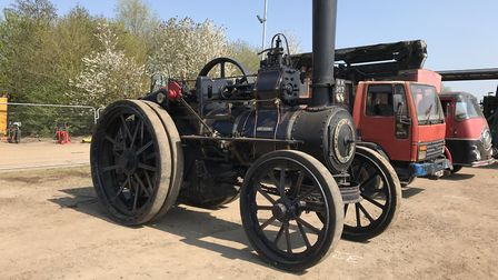 The 1907 Davey Paxman steam engine that sold for £98,700 - The Cheffin's Cambridge vintage vehicle a