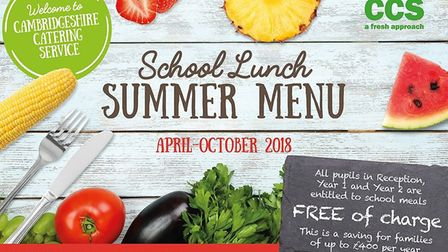 End of the road for schools catering provided by the county council. Summer menu - the last under th