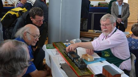 Ely & District Model Railway Club's 40th Model Railway Exhibition. PHOTO: Mike Rouse