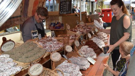 Flavours of the World market returns to Ely Market Square for the 12th year. PHOTO: Mike Rouse.